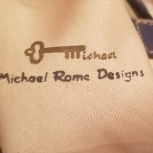 Michael Rome Bags - Michael Rome Designs Leather Shoulder Bag